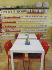 Ceramics Clayland's new space